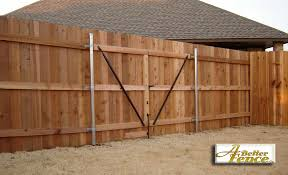 wood fence double gate. How To Build A Double Gate For Wooden Fence Designs Wood T
