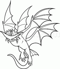 Small Picture How To Train Your Dragon Coloring Pages Alpha Coloring Pages