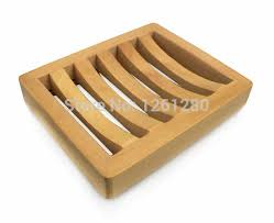 free creative fashion wooden soap dish soap holder soap tray diy parts box bathroom home