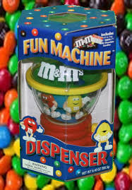 dels about fun machine m m dispenser new in the box great gift large item