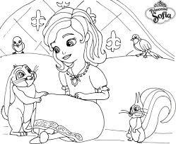 Dessin A Imprimer De La Princesse Sofiall