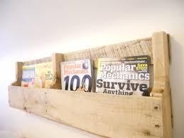 wall mounted wood magazine rack wood magazine rack wall a37 rack