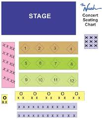 Berklee Seating Chart The Nash Seating Chart The Nash