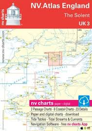 English County Flags Chart Nv Chart Atlas Uk3 The Solent Todd Navigation
