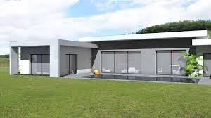 Maison Contemporaine En C Toit Terrasse V G Talis