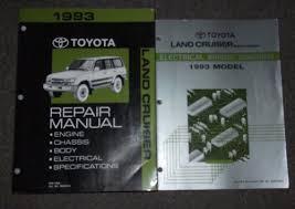 1993 toyota land cruiser service shop repair manual set (service 1994 toyota pickup wiring diagram at 1993 Toyota Land Cruiser Wiring Diagram
