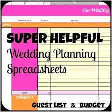 wedding planning on a budget wedding budget list excel wedding planning excel spreadsheets
