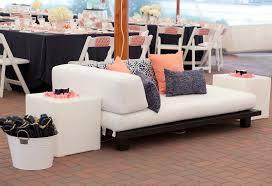 Outdoor wedding furniture Pretty Garden Malloy Weddings New England Wedding Furniture Rentals White Cotton Outdoor Wedding Lounge Furniture Friar Tux Wedding Rentals Malloy Weddings New England Wedding Planner And