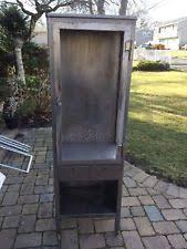 vtg 1940 50s simmons furniture metal medical. Vintage Metal Medical Cabinet Vtg 1940 50s Simmons Furniture E