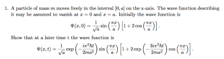 schrodinger equation to find general wave function