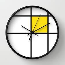 really cool clocks.  Cool Really Cool Clocks Clock Wall Mondrian Piet On Really Cool Clocks R