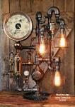 Machine Age Steam Gauge Lamp