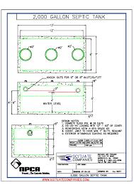Concrete Cistern Tank Design Commercial Tanks Scituate Concrete Products