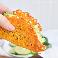 have a low carb taco night with these cheese taco ss made from baked cheddar cheese