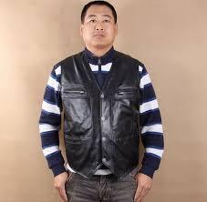 bonjean mens cow genuine leather vest reporter vest waistcoat tank top jacket motorcycle vest vests waistcoats