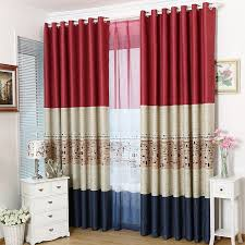 main red new arrival american style nursery curtains
