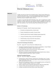 Graduate Cv Tips And Cv Template Uk Example For Students 12 Cv