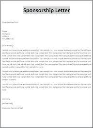 business sponsor letter template. business sponsor letter template dynabooinfo