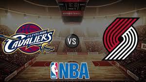 Cleveland Cavaliers vs Portland Trail ...