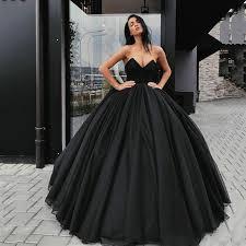 Mega Sale #1b2e - <b>Eightree</b> 2020 Gothic Wedding Dresses Black ...