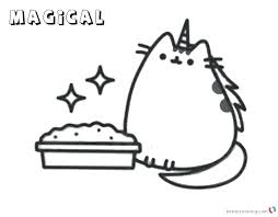 Coloring Pages Pusheen Coloring Pages Pinterest New Free At For
