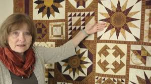 Magical Effects Using Border Print Fabrics in Quilt Blocks - YouTube &  Adamdwight.com