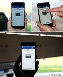 smart garage door opener chamberlain smart garage door opener review myq garage door opener smartthings