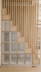 Space Saving Shelves Small Loft Apartment Turned Into A Trendy Home Space Saving Ideas