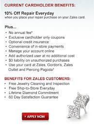 zales outlet credit card