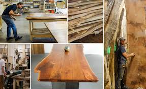 Live Edge Furniture Edges Out Recycled Wood as Status Symbol
