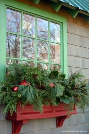 Christmas Window Box Decorations Winter Window Boxes for the Potting Shed Home is Where the Boat Is 54