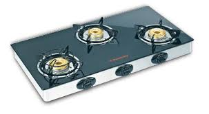 Buy Butterfly LPG Stove 3 Burners Black L3550A00000 Online at