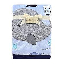 Amazon.com : Koala Baby Blue Whale Jumbo Blanket by Triboro Quilt ... & Koala Baby Blue Whale Jumbo Blanket by Triboro Quilt Adamdwight.com