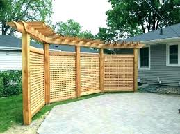 backyard privacy screens outdoor wall ideas deck screen plants
