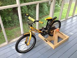 picture of stationary bike stand for kids