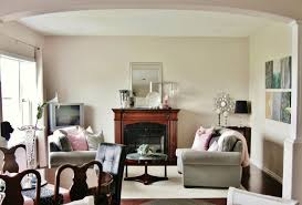 Interior Design Living Room Color Scheme Living Room Gray Sofa White Bookcases Black Console Table Brown