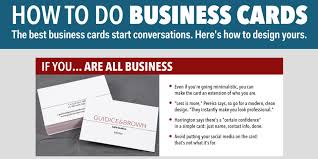 How To Design An Awesome Business Card Business Insider