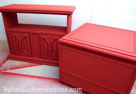 salvaged inspirations spray painting w annie sloan chalk paint creates a flawless finish