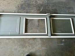 garage door window frame