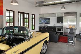 Example of a trendy one-car garage design in Phoenix