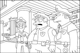 Dessin Des Simpson A Colorier Sur Lordinateur L L L L L L