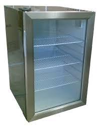 small fridge stainless steel mini
