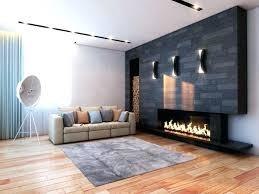 black fireplace surround tile mid century modern with dark ideas granite