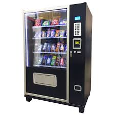 Snack Vending Machines With Card Reader Gorgeous Snack And Soda Commercial Vending Machine Snack And Beverage