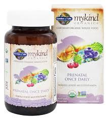 garden of life mykind organics prenatal once daily whole food multivitamin 90 vegetarian tablets at luckyvitamin com