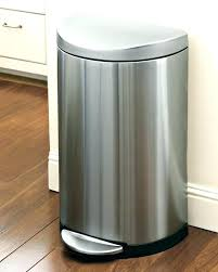 stainless steel kitchen trash can. Stainless Steel Kitchen Trash Can Black N
