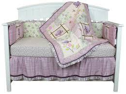 belle crib bedding set lavender flowers garden theme erfly dreams 9 piece baby bedding set com