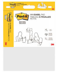 Details About Super Sticky Portable Easel Pad Flip Chart 15 X 18 Inches Re Stickable White