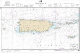 Puerto Rico Charts Noaa Chart Puerto Rico And Virgin Islands 25640