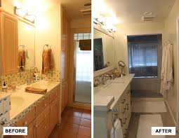 Before And After Painting Kitchen Or Bathroom Tile Floor Small